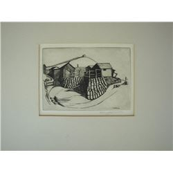 Harry R. Knobbs Etching