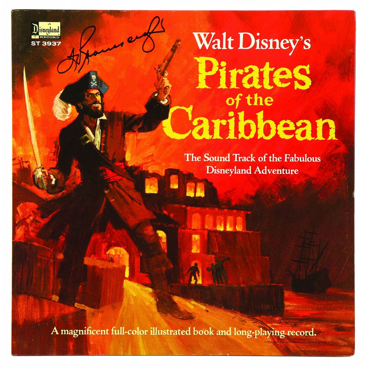 Caribbean Sound Caribbean Sound: Walt Disney's Pirates Of The Caribbean Sound Track LP