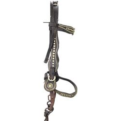 Large unmarked spotted headstall