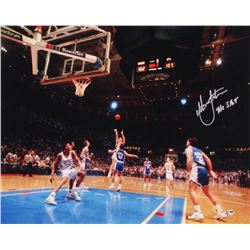 "Christian Laettner Signed Duke 16x20 Photo Inscribed ""The Shot"" (Radtke COA)"