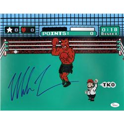 "Mike Tyson Signed ""Punch-Out"" 11x14 Photo (JSA COA)"