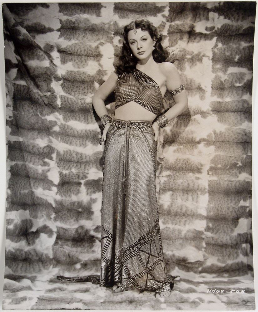 rare orig 1949 photo hedy lamarr in samson and delilah