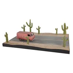 Men In Black Alien Smuggling Van & Cactus
