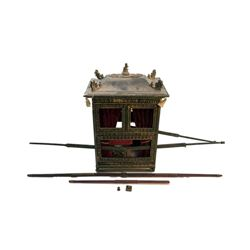 National Treasure Treasure Room Artifacts: Royal Chinese Sedan Chair
