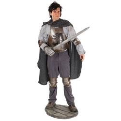 Army of Darkness Ash (Bruce Campbell) Screen Used Costume on Life Size Maquette Movie Props