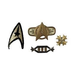Star Trek Insignia and Pins Movie Props