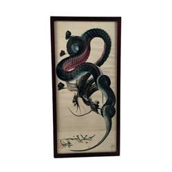 Japanese Dragon Artwork