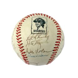 Pittsburgh Pirates Autographed Baseball