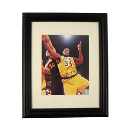 Shaquille O'Neil Signed 8x10 Photo Framed