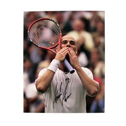 Andre Agassi Signed Photo