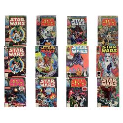 Star Wars Marvel Sept 15, Original 1977 Comic Book Collection