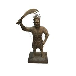 National Treasure Treasure Room Artifacts: Balinese Warrior Statue