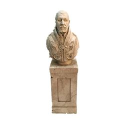 National Treasure Treasure Room Artifacts: Cardinal Bust