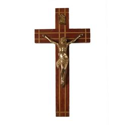 Supernatural Wood and Metal Crucifix Movie Props