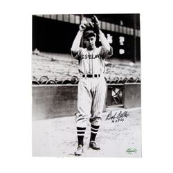 Bob Feller Cleveland Indians Autographed Photo
