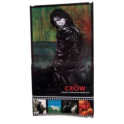 The Crow Autographed Promotional Poster