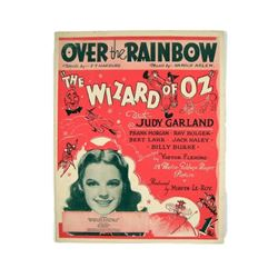 "The Wizard of Oz  ""Over The Rainbow"" Judy Garland Sheet Music"