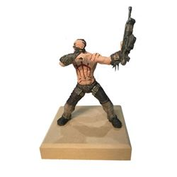 "Bulletstorm ""Last Call"" Commercial ""Skull"" Soldier with Scars"