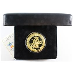 "2008 Vancouver Olympic 14-karat $300 Premium Gold Coin ""Competition"". Coin comes with all original M"