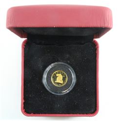 2007 Canada Wolf 1/25th oz.Gold 50-cent Coin (TAX Exempt)