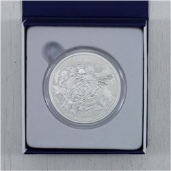 2015 $200 2 oz Coastal Waters Pure Silver Coin (#2 in the $200 for $200 Series) (TAX Exempt)