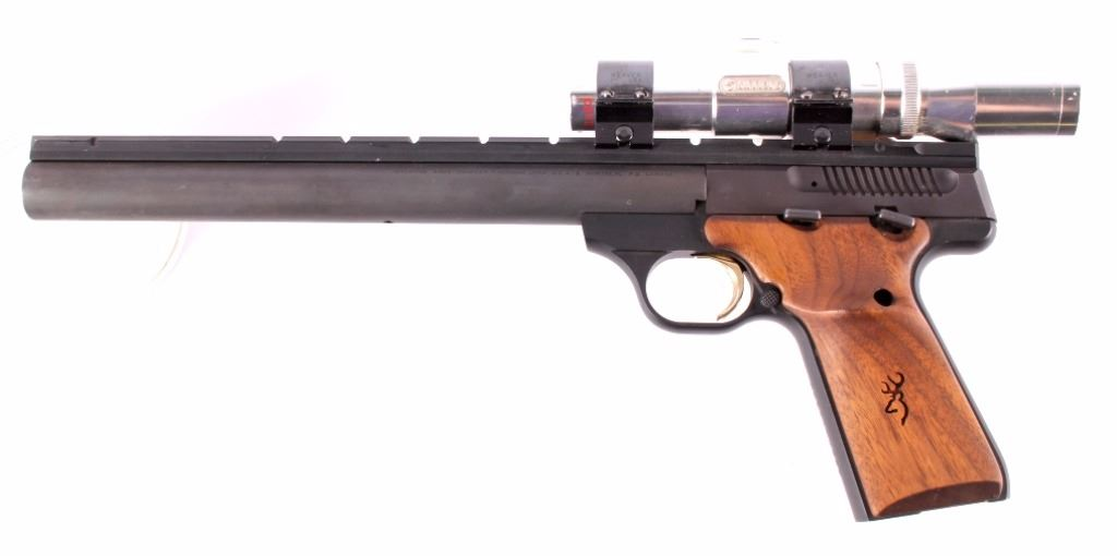 Browning Buck Mark 22 Pistol Scope 10 Quot Bull Barrel