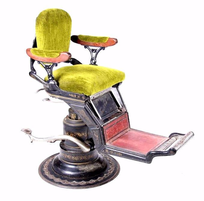- Ritter Imperial Columbia Dentist Barber Chair 1900