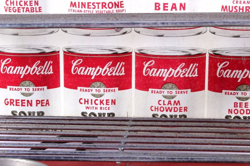 ... Image 6 : Campbell Counter Kitchen Soup Advertising Display ...