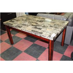 faux marble kitchen table kastner auctions