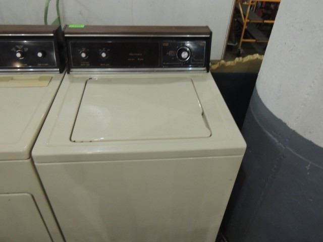Sears Washing Machines ~ Sears kenmore heavy duty almond washing machine