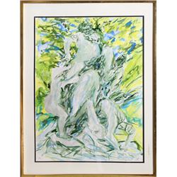 Elaine de Kooning, Bacchus (2), Watercolor Painting
