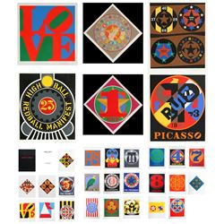 Robert Indiana, The American Dream, Portfolio Suite of 30 Serigraphs