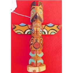 Small Northwest Coast Totem