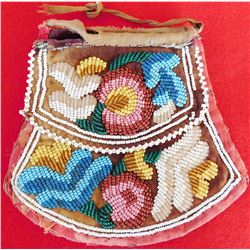 1850s Iroquois Beaded Bag