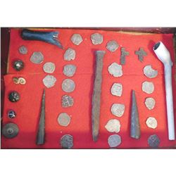 Collection of Spanish Pirate Treasure Items