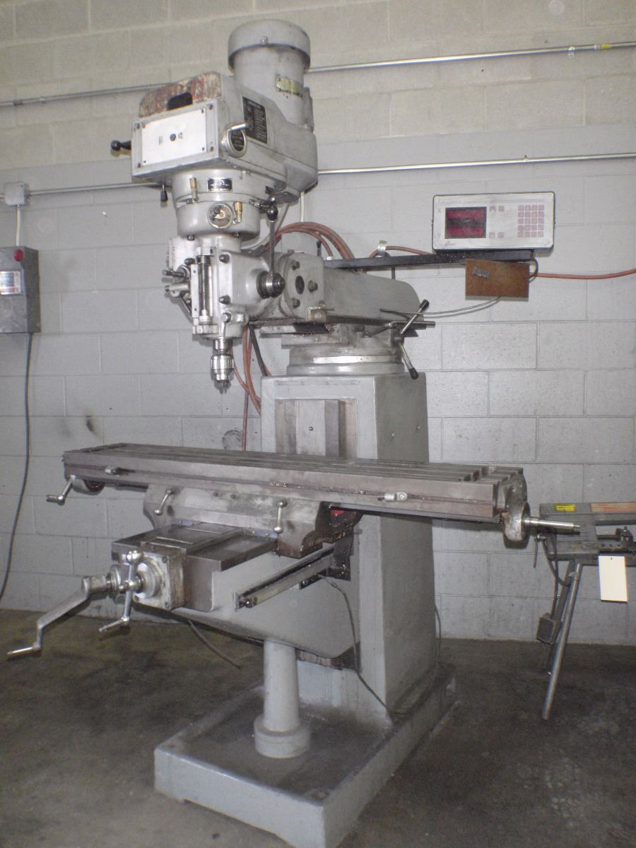 enco vertical milling machine