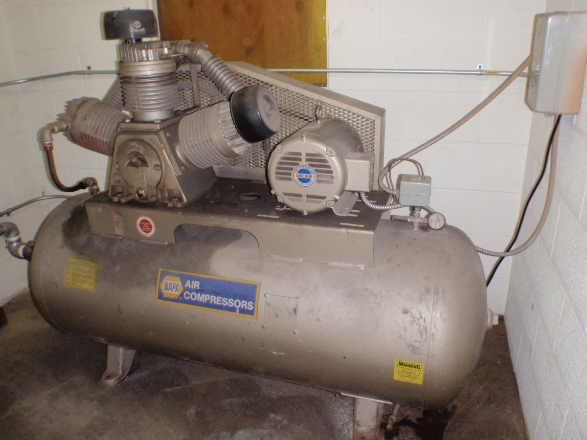 10 Hp Napa Air Compressor Btm Industrial