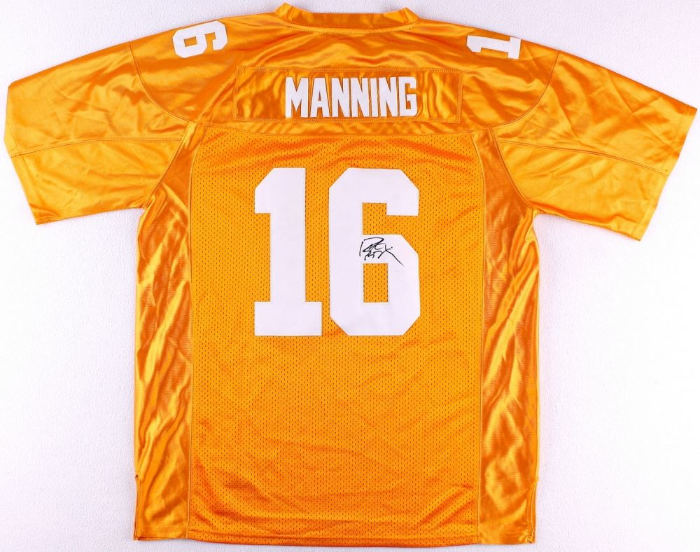 peyton manning tennessee replica jersey