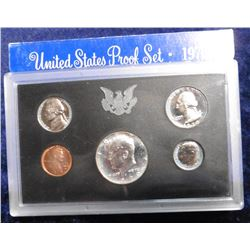1970 S U.S. Silver Proof Set. Original as issued.