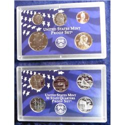 2001 S U.S. Proof Set. Original as issued in packing box