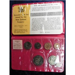 1970 Royal Visit of H.M. Queen Elizabeth and H.R.H. The Duke of Edinburgh Ordinary Uncirculated Set