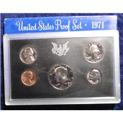 1971 S U.S. Proof Set. Original as issued.