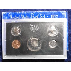 1972 S U.S. Proof Set. Original as issued.