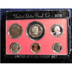 1979 S U.S. Proof Set. Complete with Susan B. Anthony Dollar. Original as issued.