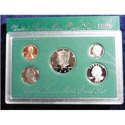 1995 S U.S. Proof Set. Original as issued.