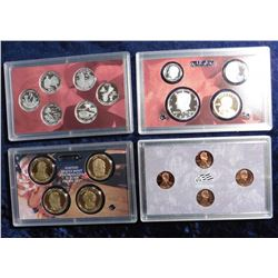 2009 S U.S. Silver Proof Set. Original as issued with State Quarter and all.