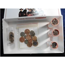 Group of Uncirculated Queen Elizabeth II Coins; (7) Alaska Statehood Quarters BU in a tube; 2007 D M