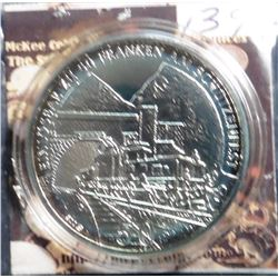 2001 Switzerland Shooting Taler. 50 Francs. .900 fine silver. 25 grams, 37 mm. Only 1,500 ever minte