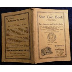 """The Star Coin Book Twentieth Edition an Encyclopedia of Rare American and Foreign Coins, by B. Max"