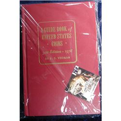 """A Guide Book of United States Coins"", by R.S. Yeoman. 31st Edition, 1978. Hardbound (Red Book)."